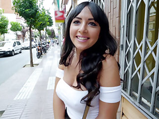 Public Pickups – Spanish Beauty's Back Room Sex